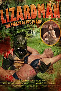 LizardMan: The Terror of the Swamp (2012) Movie Poster