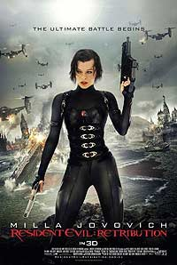 Resident Evil: Retribution (2012) Movie Poster
