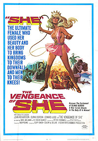 Vengeance of She, The (1968) Movie Poster