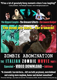 Zombie Abomination: The Italian Zombie Movie - Part 1 (2010) Movie Poster
