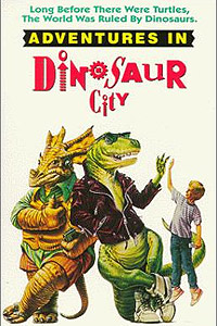 Adventures in Dinosaur City (1991) Movie Poster