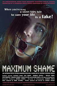 Maximum Shame (2010) Movie Poster