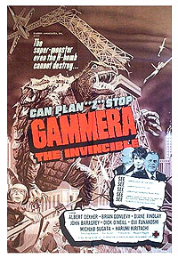 Gammera the Invincible (1966) Movie Poster