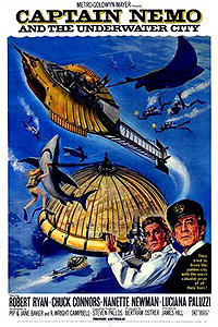 Captain Nemo and the Underwater City (1969) Movie Poster