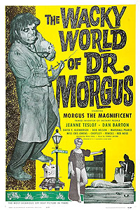 Wacky World of Dr. Morgus, The (1962) Movie Poster