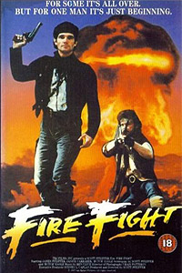Fire Fight (1988) Movie Poster