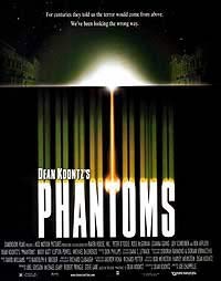 Phantoms (1998) Movie Poster