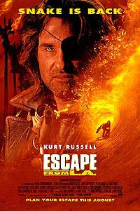 Escape from L.A. (1996) Movie Poster