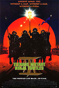 Teenage Mutant Ninja Turtles III (1993) Movie Poster