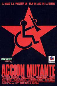 Acción Mutante (1993) Movie Poster