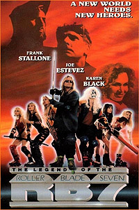Legend of the Roller Blade Seven (1992) Movie Poster