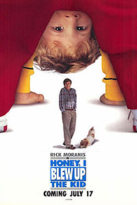 Honey I Blew Up the Kid (1992) Movie Poster