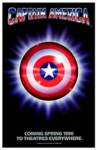 Captain America (1990) Movie Poster