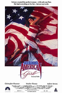 Red Blooded American Girl (1990) Movie Poster