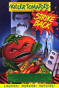 Killer Tomatoes Strike Back! (1991) Movie Poster