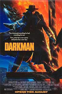 Darkman (1990) Movie Poster