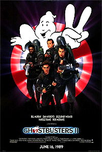 Ghostbusters II (1989) Movie Poster