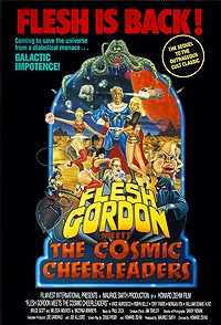 Flesh Gordon Meets the Cosmic Cheerleaders (1990) Movie Poster