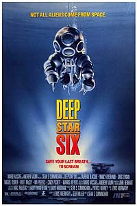 DeepStar Six (1989) Movie Poster