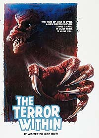Terror Within, The (1989) Movie Poster