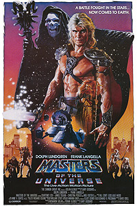 Masters of the Universe (1987) Movie Poster