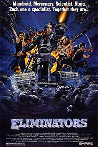 Eliminators (1986) Movie Poster