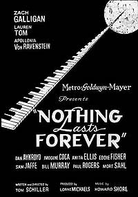 Nothing Lasts Forever (1984) Movie Poster