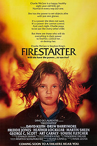 Firestarter (1984) Movie Poster