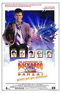 Adventures of Buckaroo Banzai Across the 8th Dimension, The (1984) Movie Poster