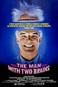 Man with Two Brains, The (1983) Movie Poster