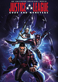 Justice League: Gods and Monsters (2015) Movie Poster
