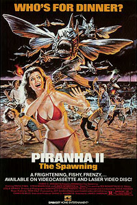 Piranha II: The Spawning (1981) Movie Poster