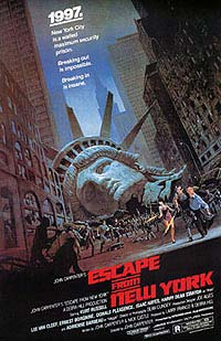 Escape from New York (1981) Movie Poster