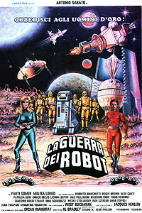 Guerra dei Robot, La (1978) Movie Poster
