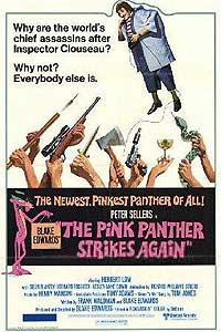 Pink Panther Strikes Again, The (1976) Movie Poster