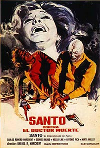 Santo contra el Doctor Muerte (1973) Movie Poster
