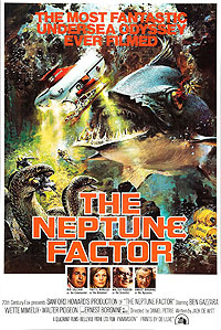 Neptune Factor, The (1973) Movie Poster