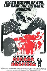 Horror Hospital (1973) Movie Poster
