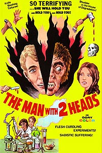 Man with Two Heads, The (1972) Movie Poster