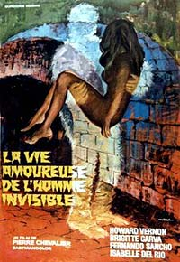 Vie Amoureuse de l'Homme Invisible, La (1970) Movie Poster