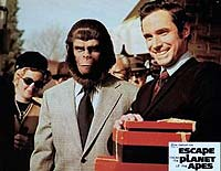 Image from: Escape from the Planet of the Apes (1971)