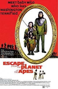 Escape from the Planet of the Apes (1971) Movie Poster