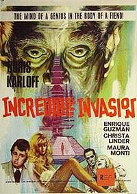 Incredible Invasion, The (1971) Movie Poster