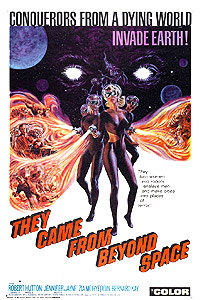 They Came from Beyond Space (1967) Movie Poster