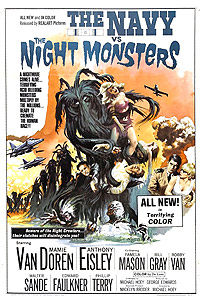 Navy vs. the Night Monsters, The (1966) Movie Poster