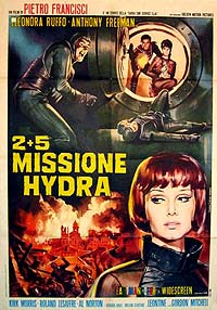 2+5: Missione Hydra (1966) Movie Poster