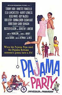 Pajama Party (1964) Movie Poster