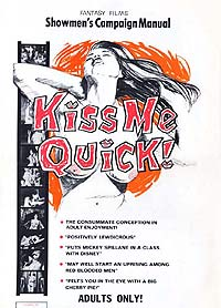 Kiss Me Quick! (1964) Movie Poster