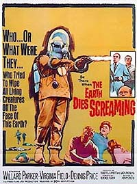The Earth Dies Screaming (1964) Movie Poster