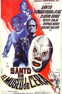 Santo en el museo de cera (1963) Movie Poster